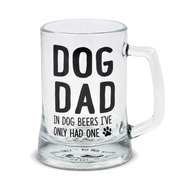 Mug Our Name is Mud Dad Glass Stein Cup w/Opener 6006401