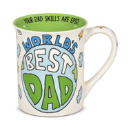 Mug Our Name is Mud World's Best Dad Moon Cup 16oz 6006399