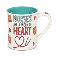Mug Our Name is Mud Nurse Heart Coffee Cup 16oz 6006387