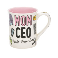 Mug Our Name is Mud Mom CEO Coffee Cup 16oz 6006395