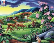 Puzzle Ceaco Walt Curlee Deer 550pcs