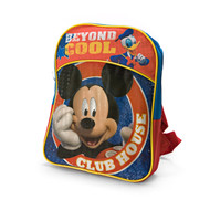 "Small Backpack Mickey Mouse Beyond Cool Blue 12"" 117865"