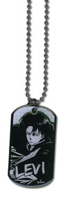 Necklace Attack on Titan Levi Dogtag ge36271