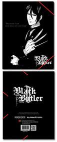 File Folder Black Butler 2 Sebastian Elastic Band Stationery ge26052