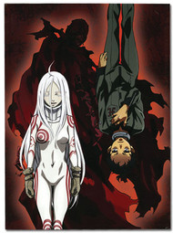 "Notebook Deadman Wonderland Shiro & Ganta Glue 10x7.5"" ge43065"