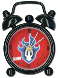 "Desk Clock Mini Bleach Flamming Skull 3"" ge6555"