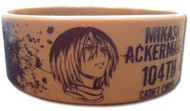 Wristband Attack on Titan Mikasa 104th Cadet Corps ge54057