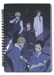 Notebook Durarara Group Note Book Stationary ge4050