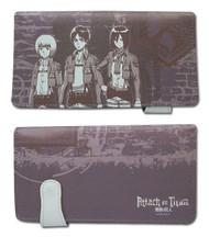 Wallet Attack on Titan Armin, Eren & Misaka ge61798