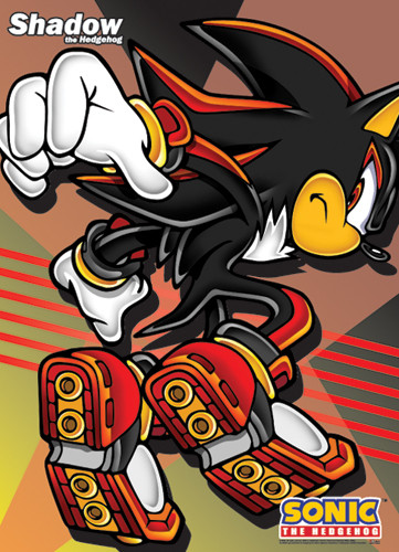 Wall Scroll Sonic The Hedgehog Shadow Off Fabric Poster Art Ge5279 Hobby Hunters