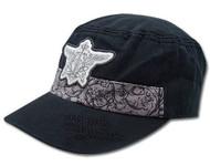 Baseball Cap Black Butler Phantomhive Emblem Cadet ge32001