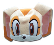 Beanie Cap Sonic The Hedgehog Cream Fleece Plush Cosplay ge2336