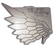 Belt Buckle Accel World Silver Crow ge15505
