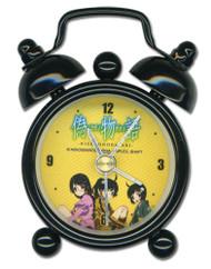 """Desk Clock Mini Nisemongatari Karen Tsukihi Tsubasa 3"""" ge19007"""