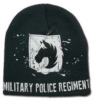 Beanie Cap Attack on Titan Military Police Unfold ge32376