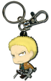 Key Chain Attack on Titan SD Chibi Reiner Ring ge36914