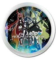 Wall Clock Black Rock Shooter 3 Girls ge19067