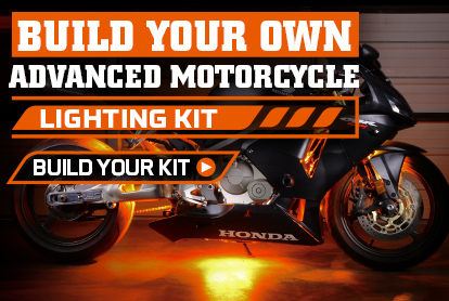 Build Your Own Advanced Million Color Motorcycle Accent Light Kit