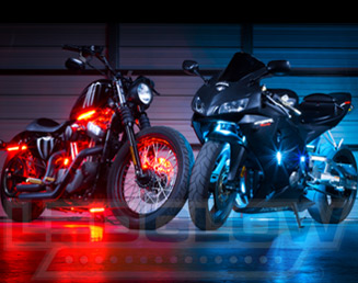 Motorcycle Led Kit >> Motorcycle Led Lights By Ledglow Lighting
