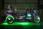 Green LiteTrike Motorcycle LED Lights