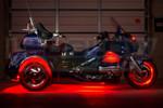 Red LiteTrike Motorcycle LED Lights