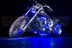 Blue Motorcycle LED Lighting Kit