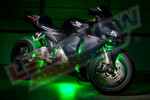 LEDGlow Advanced Green SMD LED Motorcycle Lighting Kit