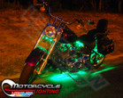 Classic Green LED Motorcycle Lights