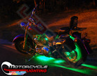 Green Motorcycle LED Accent Lights