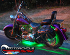 Green LED Accent Lights for Motorcycles