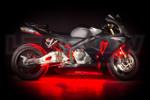 Red Motorcycle LED Lighting Kit