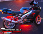 Classic Red LED Motorcycle Lights