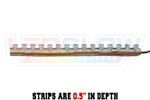 Classic Single Color LED Light Strip Depth