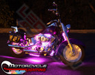 Pink LED Accent Lights for Motorcycles