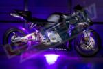 Purple Motorcycle LED Lights
