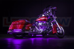 Purple Motorcycle LED Accent Lights