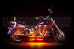 Orange LED Motorcycle Underglow Lights