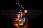LEDGlow Orange Motorcycle LED Lighting Kit