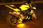 LEDGlow Classic Yellow LED Motorcycle Lighting Kit