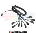 8pc Single Color Motorcycle Add On Harness