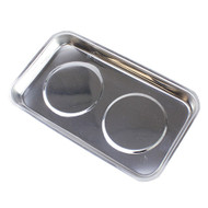 Magnetic 5-1/2-inch Stainless Steel Parts & Hobby Tray