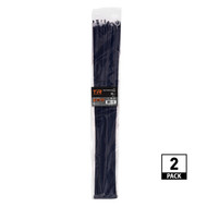 TR Industrial Multi-Purpose UV Resistant Black Cable Ties, 36 inches, 100 Pack