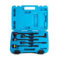 Capri Tools 30083 Torque Limiting Extension Bar 5 Piece Set, 65-140 ft-lbs, 1/2 inch Drive