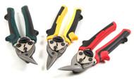 """Compact Aviation Tin Snips, 7"""" (3-Piece Set)"""