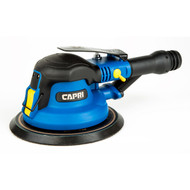 Capri Tools 32075 Random Orbital Palm Sander, Self Vacuum, 6 inch