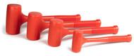 Capri Tools Premium Dead Blow Hammer Set, 16, 32, 48, 60-Ounce