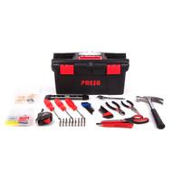 Presa 150-Piece Homeowner's Tool Kit with Hanging Hardware