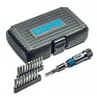Capri Tools Ultra Precision Certified Torque Limiting Screwdriver Set, 1.5 to 6 inch-pounds in 0.05 inch-pound increments