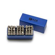 Capri Tools Professional 1/4 in. Letter Stamp Set, 27-Piece