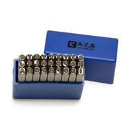 Capri Tools Professional 1/8 in. Letter Stamp Set, 27-Piece